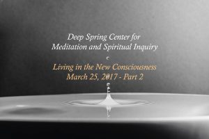 New Consciousness - Part 2